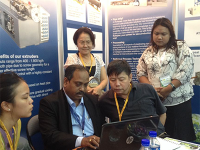 Myanmar plastic exhibition